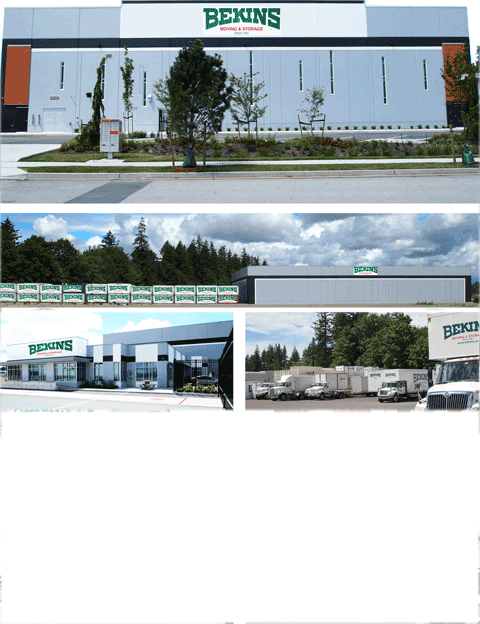 Bekins Worldwide Storage Facility for your Cross Border Canada to USA Move